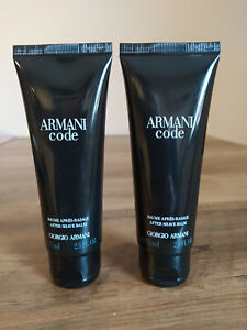 Armani Code Homme  150 ml After Shave Balm  2 x 75 ml