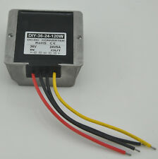 Waterproof Dc 36V(26-47V) Step down to 24V 5A 120W Dc buck Converter Regulator