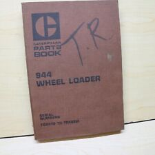 Cat Caterpillar 944 Wheel Loader Parts Manual Book 70a Series List Front End Oem