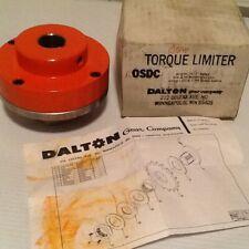 """New Dalton ROSDC-337 1"""" bore torque limiter"""