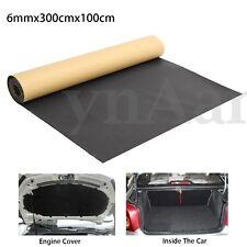 300x100cm 6mm Car Van Sound Proofing Deadening Insulation Closed Cell Foam Mat