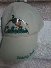 CABELA'S WILDLIFE SERIES CAP NEW WITH TAGS