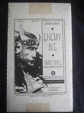 Enemy Ace War Idyll Limited HC Edition #292 Signed by George Pratt