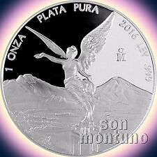 2016 Mexico 1 OZ SILVER LIBERTAD PROOF .999 Bullion Coin SEALED IN MINT CAPSULE