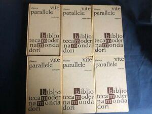 Plutarco Vite parallele vol I-VI Mondadori