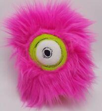 Timmonsters.com Pink Odd Signed Handmade One Eyed Monster Stuffed Plush  2017