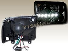 99-04 Ford F250/F350 Superduty / 00-05 Excursion headlights Bumper LED Black