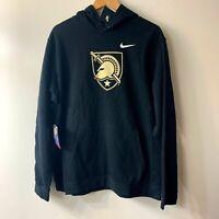 Nike Therma Army Black Knights Hoodie Sweatshirt Black Pullover - XL - NEW