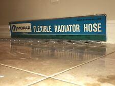 Large Vintage 1960s 1970s NOS Mopar dealership display rack and metal sign! H