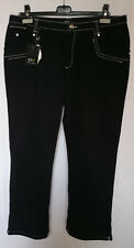 Pantaloni Donna nero Women's Pants BLUE TIME Elena Miro tg 21