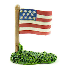 Miniature Dollhouse Fairy Garden - American Flag - Accessories