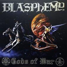 BLASPHEMY - GODS OF WAR LP  BLUE SPLATTER VINYL ONLY 210 COPYS  NEW NOT SEALED
