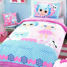 Lalaloopsy - Ivory Ice Crystals - Double/US Full Bed Quilt Doona Duvet Cover Set