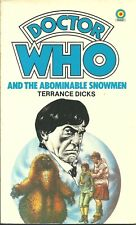 Doctor Who and the Abominable Snowman by Terrance Dicks (1983, Paperback)
