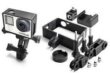 Frame Mount Set per GoPro Go Pro HD HERO 4 BLACK Tripod QUADRO ACCESSORI 10 pezzi
