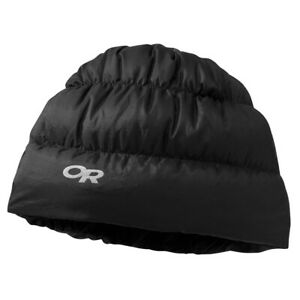 OUTDOOR RESEARCH Transcendent Down Beanie - S M - Black