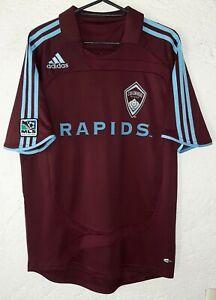 MLS Colorado Rapids Adidas 2008 Pablo Mastroeni Home Soccer Jersey