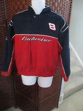 Men's Dale Earnhardt Jr Nascar Budweiser Jacket Size Large #8