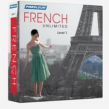 NEW Pimsleur Unlimited FRENCH Language Course 30 Lessons