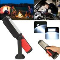 Rechargeable LED+COB Inspection Lamp Work Light Flexible Hand Torch Magnetic DE