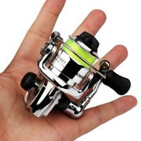 2+1 Ball Bearings Mini Left Right Hand High Speed Spinning Fishing Reel Tackle