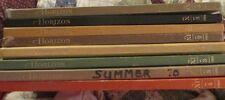 Horizon Magazine Lot of 8 books 1967-1973
