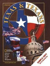 TEXAS AND TEXANS, STUDENT EDITION Adrian N. Anderson Hardcover NEW NATIONAL GEO