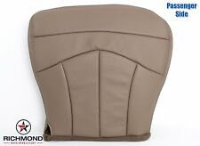 1999 Ford F150 Lariat Flare Step Side -Passenger Bottom Leather Seat Cover TAN
