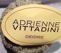 1 Skein Adrienne Vittadini Deidre Yarn Color 184 Green Gray Made in Italy