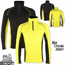 Men Cycling Jersey Long Sleeve Outdoor Activity Gym, Riding, Sports Wear Jacket