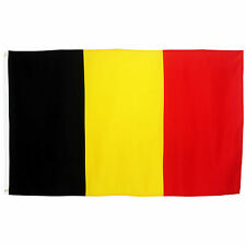 Fahne Belgien Quer 90 x 150 cm belgische Hiss Flagge Nationalflagge WM 2018
