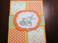 Handmade Easter Card - Bunny with Egg and Chick - using Stampin' Up products