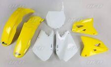 Kit plastique UFO motocross Suzuki RM 125 250 2003 - 2004 - 2005 origine jaune