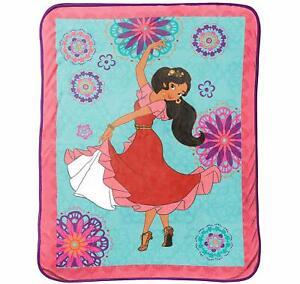 """Disney Princess Magic Elena of Avalor 46"""" x 60"""" Plush Throw Blanket"""