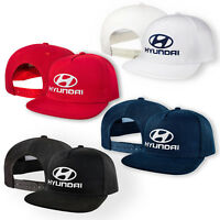 Hyundai 5 Panel Baseball Cap Embroidered Auto Logo Snapback Mens Womens Hip-Hop