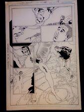 Original Comic Art Firestorm #22 page 5 (Eddy Barrows)