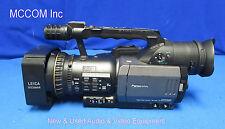 Panasonic AG-DVX100B 3CCD Min-DV Cinema Camcorder w/ 554 Op hrs AS IS