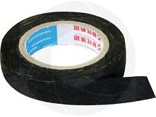 Rubber Coated Black Fabric Insulation Wiring Harness Electrical Tape High Volt