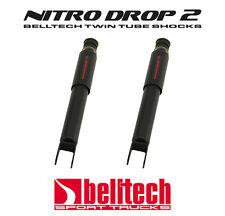 """00-06 Tahoe/Yukon Nitro Drop 2 Front Shocks 3"""" - 4"""" Drop (Pair)"""