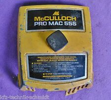 Luftfilterdeckel  Mc Culloch Pro Mac 555 Kettensäge
