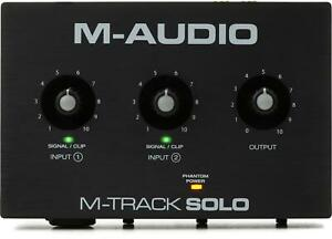 M-Audio M-Track Solo USB Audio Interface