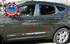fits:2013-2018 Hyundai Santa Fe Sport Body Side Molding Trim Stainless Steel