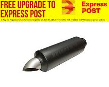 "Flowmaster Hushpower Pro Series Turndown Muffler Round, 3"" Inlet / 3.5"" Outlet"