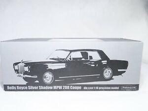 PARAGON n° PA-98204L Rolls Royce Silver Shadow MPW 2DR Coupé 1/18 MIB