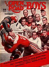 """Open Road"" Magazine (1940) Football *Head Coach Quiz* Minnesota Gophers* Bernie"
