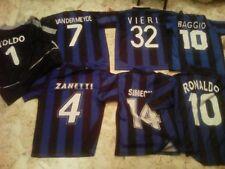 'F.C.  INTER' :  7 MAGLIE : ZANETTI,BAGGIO,VIERI,SIMEONE,RONALDO,TOLDO,VANDER...