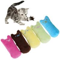 Cat Kicker Interactive Pillow Crazy Pet Catnip Teeth Grinding Toy W CRIT