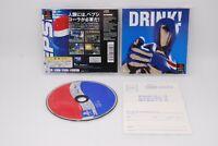 Sony PlayStation 1 Game Software PEPSIMAN w/ Hagaki Japan import PS PS1 NTSC-J
