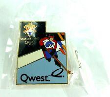 New listing 2002 Salt Lake Olympic Aminco Hockey Quest Lapel Pin Pinback New