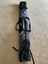 """New listing High Sierra Ski Bag Zippered Strapped Black 13"""" x 79"""" EXCELLENT CONDITION CLEAN"""